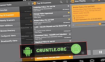 안드로이드에 대한 7 최고의 경찰 스캐너 앱