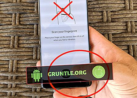 Hur man tar bort fingeravtryck på Galaxy S10 |  enkla steg för att ta bort fingeravtryck