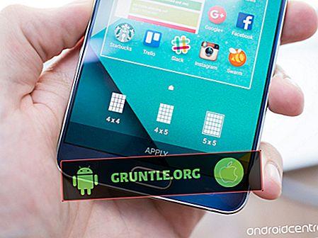 Samsung Galaxy Note 5 Startskärmguide: Anpassa och hantera skärmar